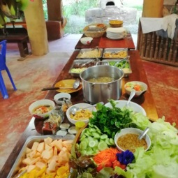 Meal at Earth Home