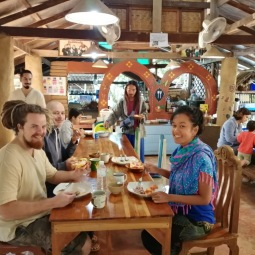 Lunch at Earth Home Chiang Mai